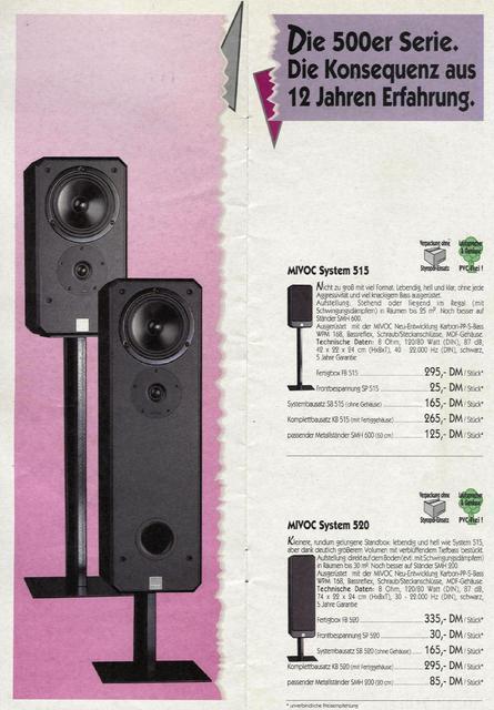 Mivoc System 520