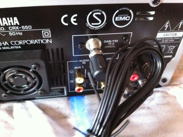 Kombinierte DAB/FM Antenne