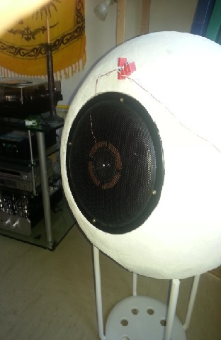 Koax Dy1026u Mit Monacor HT22 Versuchsaufbau