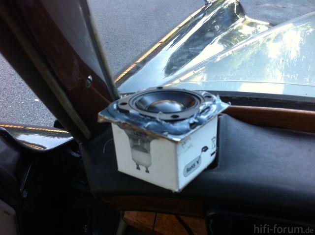 Lautsprecher In Der Kiste