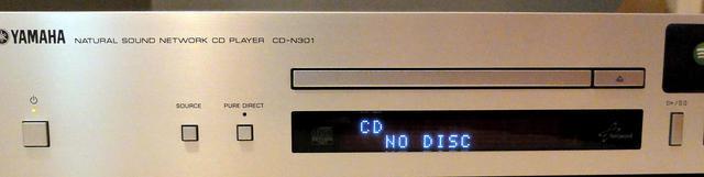Yamaha CD-N301 silber