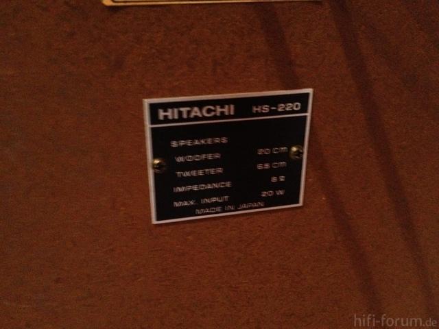Hitachi HS-220