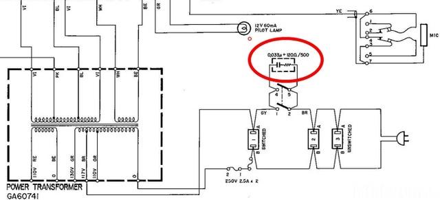 Ca 400 Power Switch