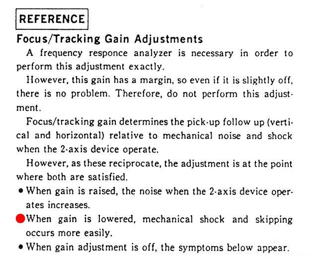 CDP 990 Laufwerk Symptome