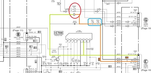 SONY TA-FA30ES Kophörerausgang schaltet immer ab, Elektronik ...
