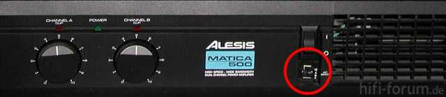 Power Dist Unit Model611 And Alesis Matica500 Detail