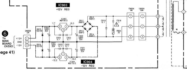 Sony Dat Power Supply
