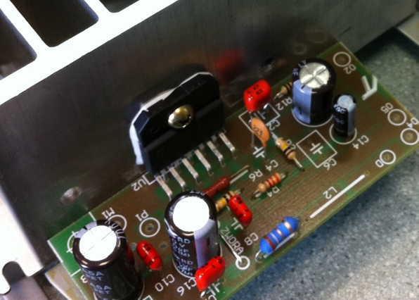 SONY TA F419R   Power Stage