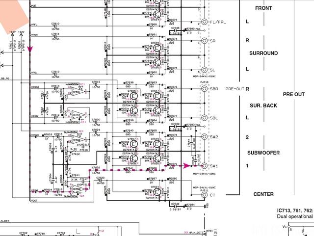 RX V1067 Sheet