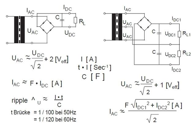 Trafo Formel