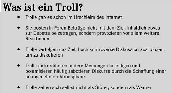 Was Ist Ein Troll