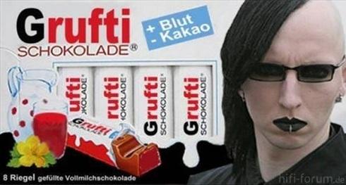 Grufti Schokolade