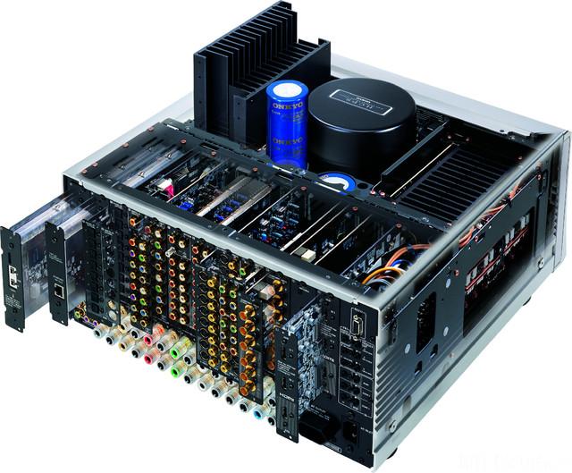 Innenaufbau Onkyo TX NR 5000 E
