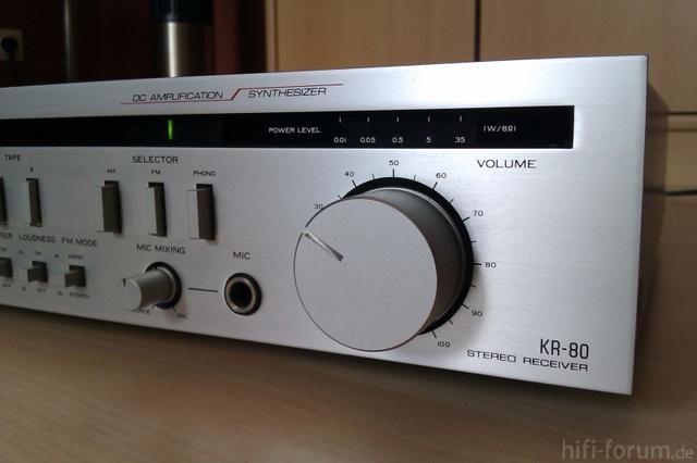 Kenwood KR- 80 Receiver