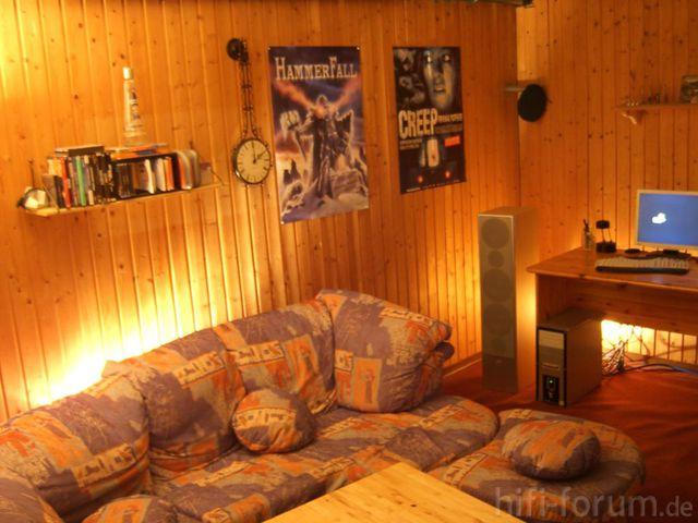 Hörplatz Mit Indirekter Fernsteuerbarer Beleuchtung2
