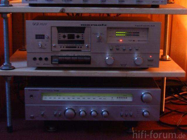 Marantz SD 3020; Telefunken RR 100