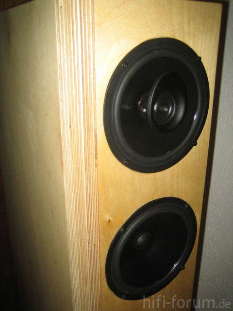 Seitenansicht Lautsprecher