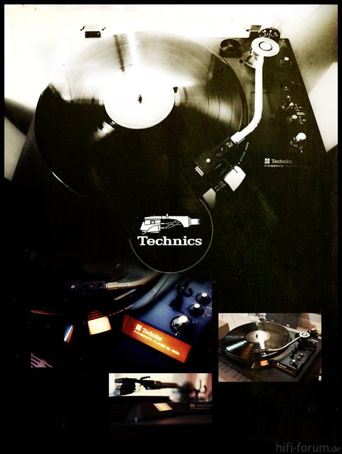 Technics TT Poster