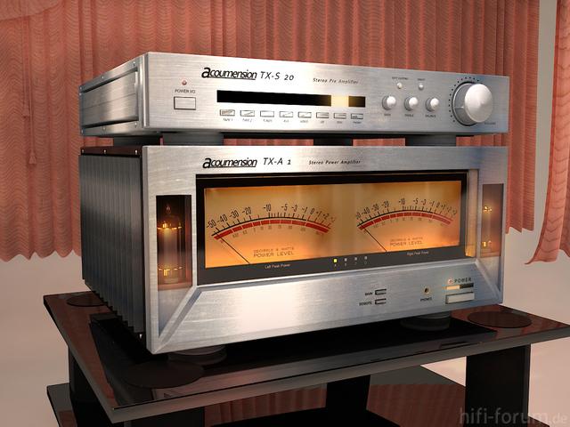 Vintage Amp Concept Design