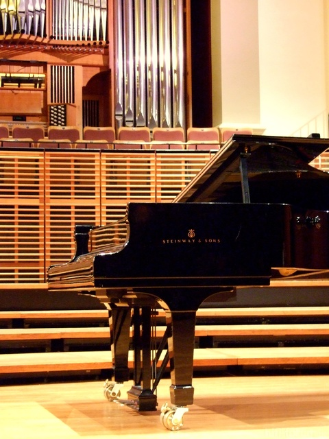 Steinway & Sons Piano On Stage