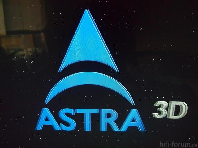 Beispielbild Astra 3D, Brille An