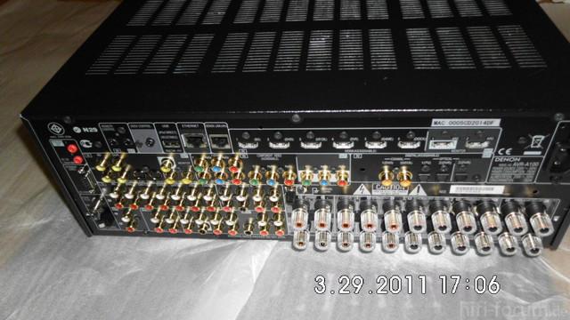 Denon AVR A100 R?ckseite