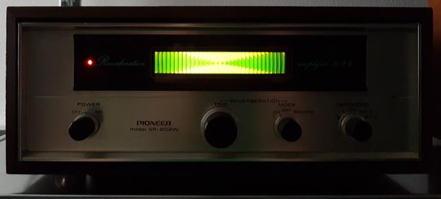 Pioneer nagalm apparaat
