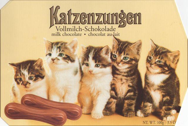 Katzenzungen.
