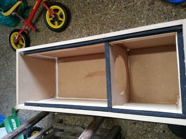 bandpass f r jl audio 10w6v2 car hifi subwoofer geh use. Black Bedroom Furniture Sets. Home Design Ideas