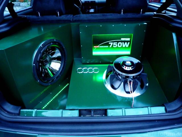 Kofferaumausbau Audi A3 Fertig!