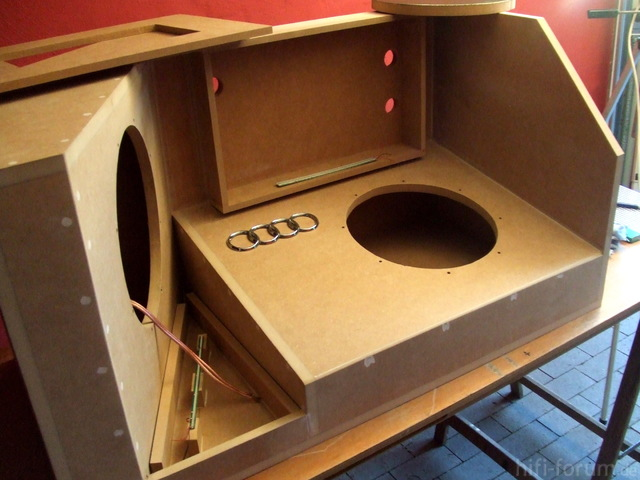 Kofferraumausbau Audi A3