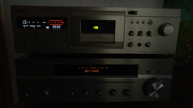 Yamaha Rx-797 Und Sony KA3ES Kassettendeck