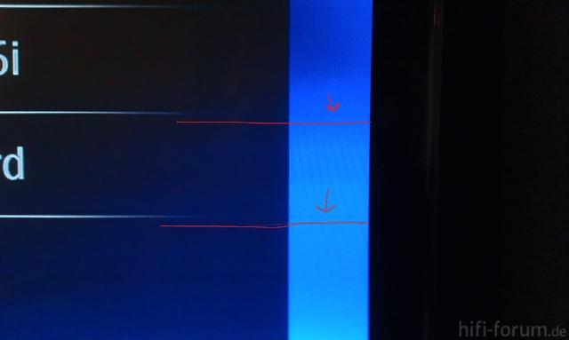 Streifen Bluray Player Menü