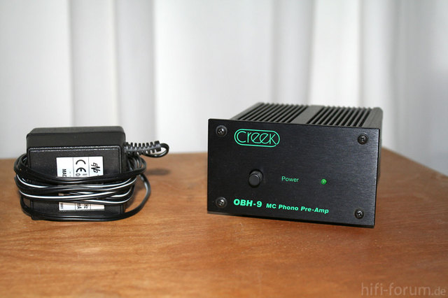 Creek OBH-9 MC Phono Pre Front
