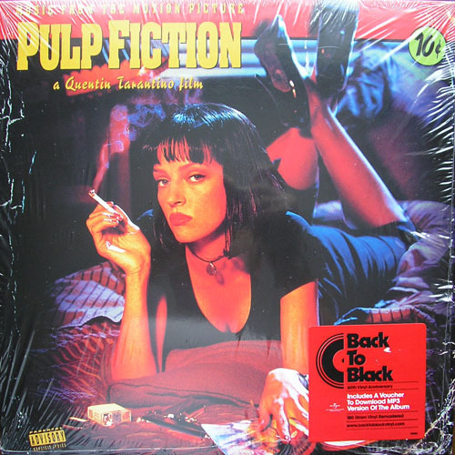 Pulp Fiction OST Poster