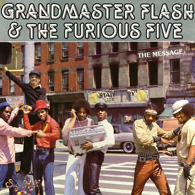 Grandmaster Flash The Furious Five The Message Delantera1