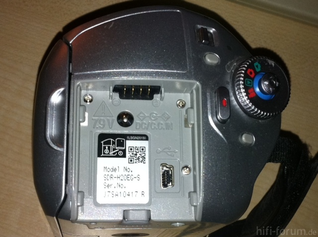 Panasonic SDR-H20EG