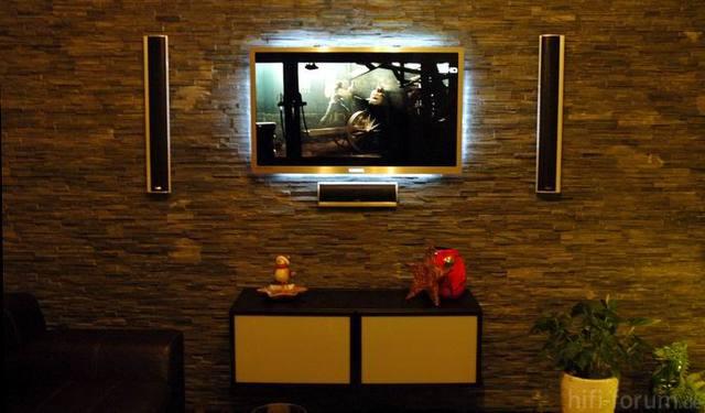 LED UE46C8790 Mit Unterschrank