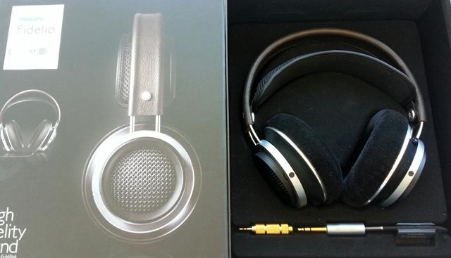 Fidelio X1 Verpackung