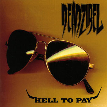 Deadzibel - Hell To Pay (Album Cover)