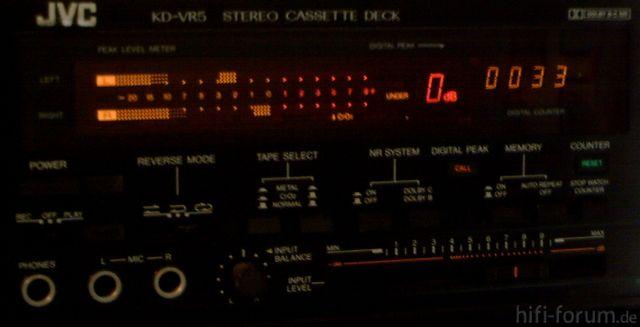 FL-Meter JVC KD-VR5