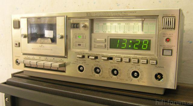 IGU Radio-Cassetten-Wecker