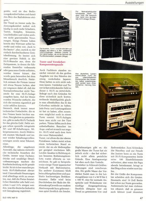 "Reportage ""hifi 78""-Messe (ELO, 1978) - 2"