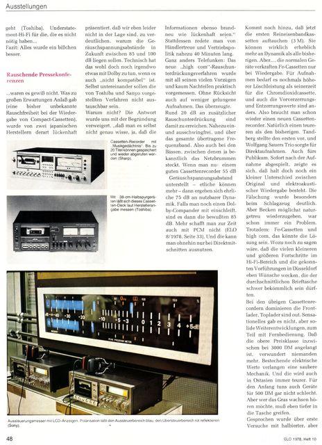 "Reportage ""hifi 78""-Messe (ELO, 1978) - 3"