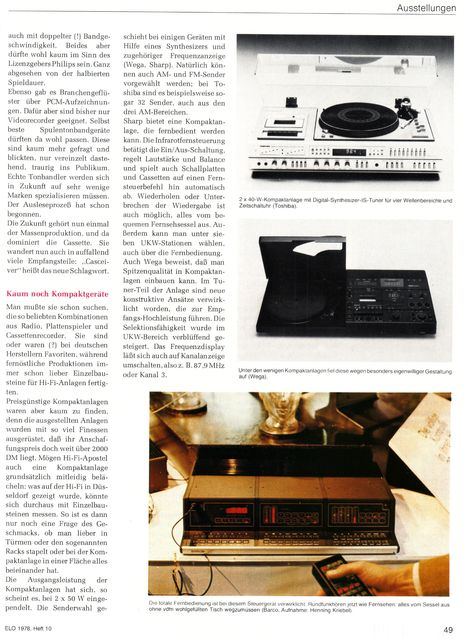 "Reportage ""hifi 78""-Messe (ELO, 1978) - 4"