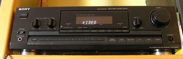 Sony STR-GX390