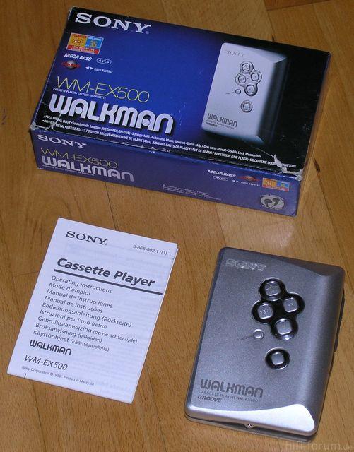 Sony Walkman WM-EX500
