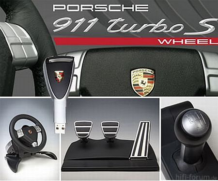 Fanatec Porsche 911 Turbo S Wheel 48