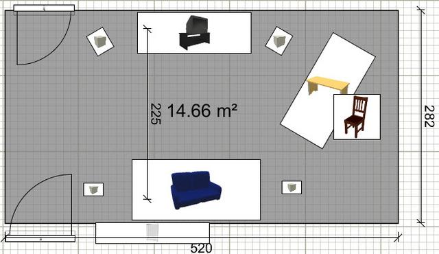 Zimmer, Variante 1