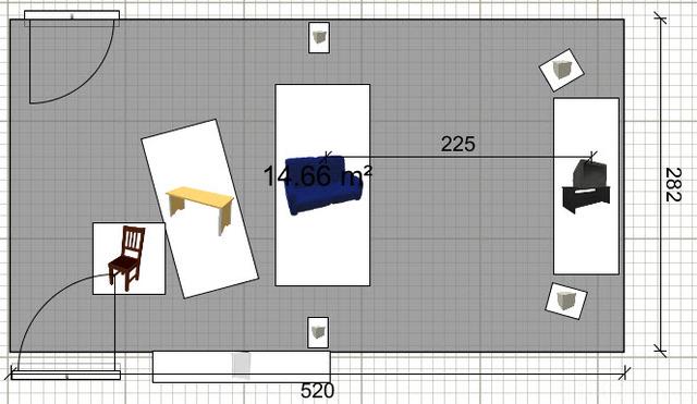 Zimmer, Variante 2